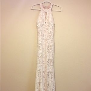 Nightway Lace Dress